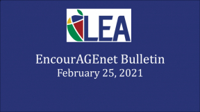 EncourAGEnet Bulletin - February 25, 2021