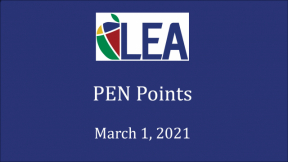 PEN Points - March 1, 2021