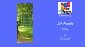 LEA Awards 2014