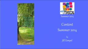 Content Summer 2014