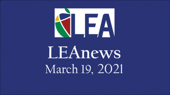 LEAnews - March 19, 2021
