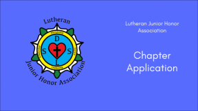 LJHA Chapter Application