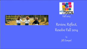 Review, Reflect, Resolve Fall 2014