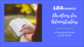 Learning from Leviticus and Lamentations - Mildew, Education, and Everything Else