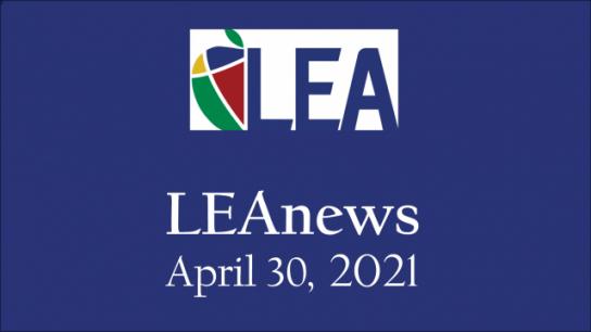 LEAnews - April 30, 2021