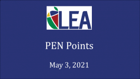 PEN Points - May 3, 2021