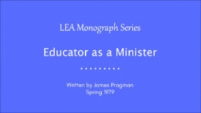 Educator as a Minister