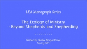 The Ecology of Ministry - Beyond Shepherds and Shepherding