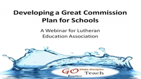 Developing a Great Commission Plan for Your School