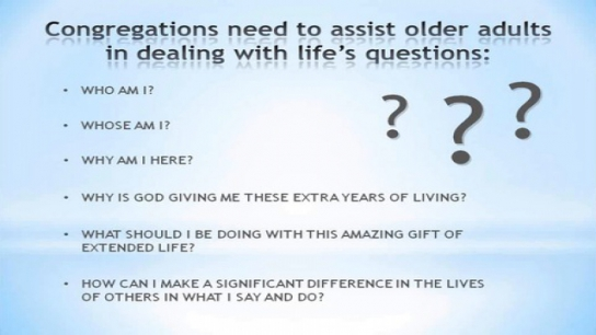 Engaging the Aging in the Congregation