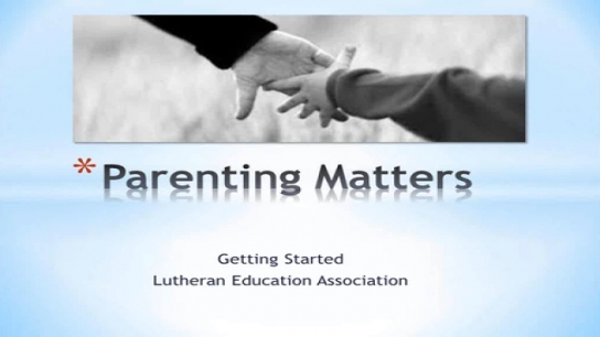 Getting Started on Parenting Matters