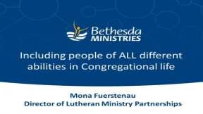 Including People of ALL Different Abilities in Congregational Life
