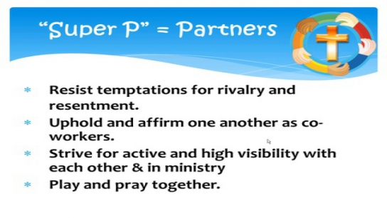 Pastor & Early Childhood Programs: Walking, Skipping & Jumping Together in Ministry