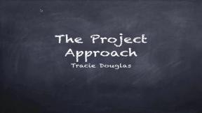 Project Approach in Preschool