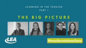 Learning in the Tension - The Big Picture