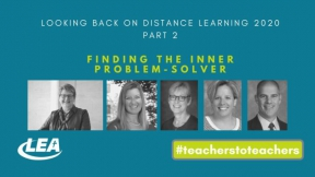 Looking Back on Distance Learning 2020 - Finding the Inner Problem-Solver