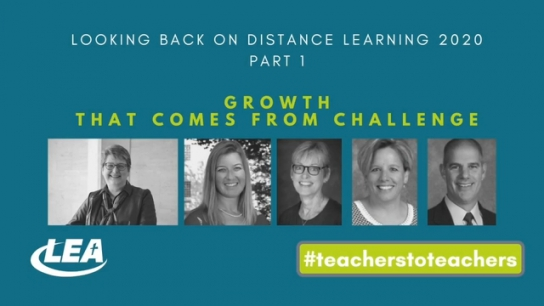 Looking Back on Distance Learning 2020 - Growth that Comes from Challenge