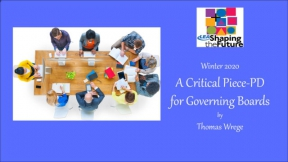 A Critical Piece-PD for Governing Boards