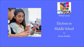 Electives in Middle School
