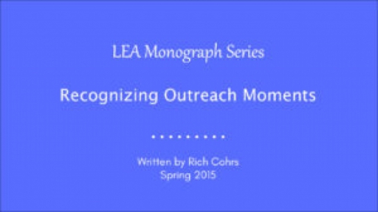 Recognizing Outreach Moments