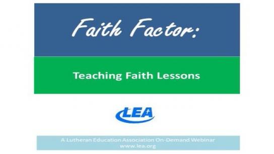 Faith Factor - Faith Lessons