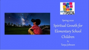 Spiritual Growth for Elementary School Children