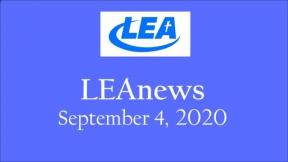 LEA News - September 4, 2020