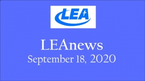 LEA News - September 18, 2020