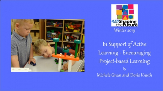 In Support of Active Learning - Encouraging Project-based Learning