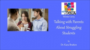 Talking with Parents About Struggling Students