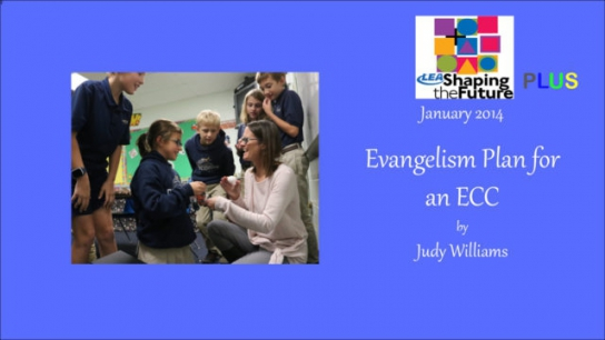Evangelism Plan for an ECC