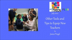 Other Tools and Tips to Equip New Teachers