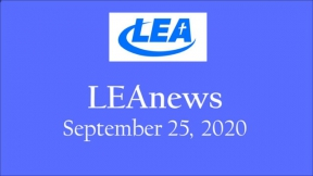 LEA News - September 25, 2020