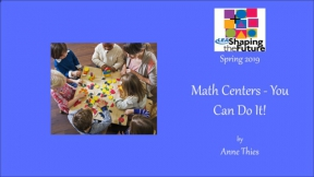 Math Centers - You Can Do It!