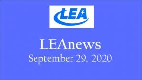 LEA News - September 29, 2020