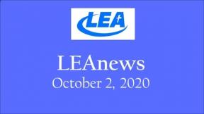 LEA News - October 2, 2020
