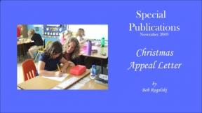 Christmas Appeal Letter