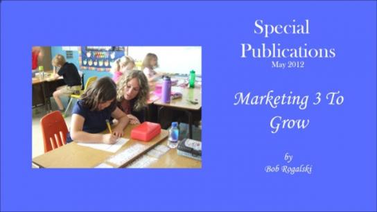 Marketing 3 To Grow