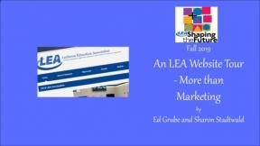 An LEA Website Tour - More than Marketing