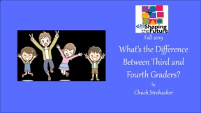 What's the Difference Between Third and Fourth Graders?