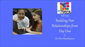 Building Peer Relationships from Day One