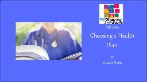Choosing a Health Plan