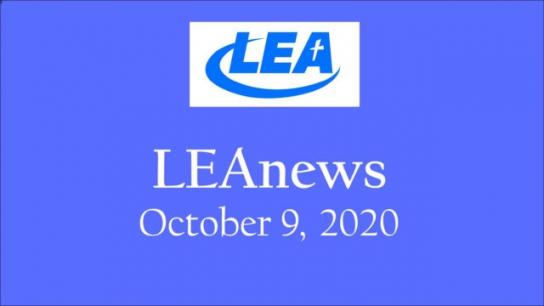 LEA News - October 9, 2020