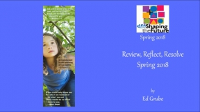 Review, Reflect, Resolve Spring 2018