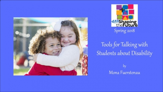 Tools for Talking with Students about Disability