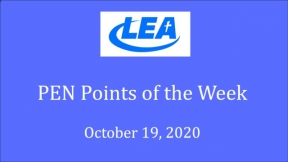 PEN Points of the Week - October 19, 2020