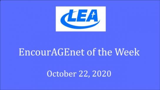 EncourAGEnet Tips of the Week - October 22, 2020