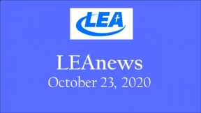 LEA News - October 23, 2020