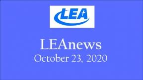 LEA News - October 23, 2020