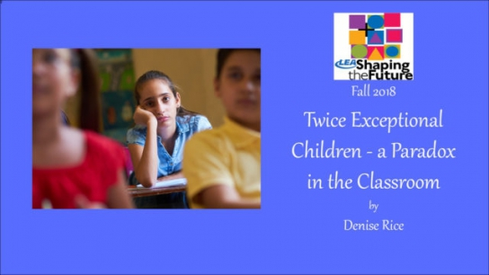 Twice Exceptional Children - a Paradox in the Classroom